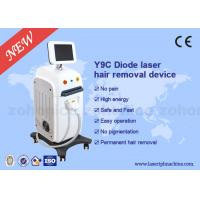 Quality Sapphire Contact Cooling System Laser Hair Removal Machine 50HZ / 60HZ for sale