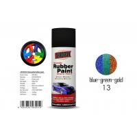 Quality Insulate Rubber Coat Spray Paint Chameleon Blue - Green - Gold Color For Car Body for sale