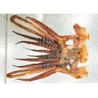 Quality Healty Tentacle Shredded Squid Snack Tentacles Deep Sea Brown Color for sale