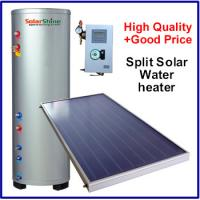 Quality Safety Split Solar Water Heater , Roof Mounted Solar Water Heater 3 Years Warranty for sale