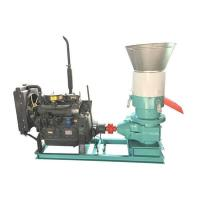 Quality 350AD Flat Die Pellet Mill with Diesel Engine for Home Use for sale