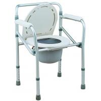 China Hot selling Bathroom Safety Folding Lightweight Commode Height Adjustable on sale