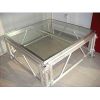 Buy High Hardness 18mm Acrylic Stage Platform 380KG/square Meter at wholesale prices
