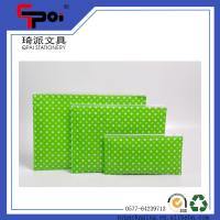 Quality Office & School Supplier PP Plastic A4 Folder With Zipper File Bag for sale