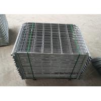 Quality Easy Install Galvanized Farm Mesh Fencing , Durable Rural Farm Gates for sale