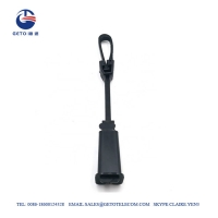 Quality Plastic Drop Fiber 2-8mm Tension Cable Clamp 100kg For 30 Minutes for sale