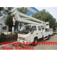 Quality Forland RHD double rows 11m high altitude operation truck, aerial working platform truck for sale