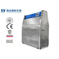 Quality Fabric UV Aging Test Chamber , Accelerated UV Lamp Tester For Sunlight Resistant Test for sale