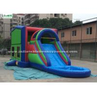 Quality Commercial Jumping Castles 5 In 1 Inflatable Bounce House With Slide for sale