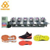 Buy Semi Automatic One Color Rubber Sole Making Machine For High Grade Leather Shoes at wholesale prices