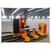 Quality 25kw Cnc Pipe Flame Cutting Machine 3 Axis Two Linkage Axises Intersection Cutter for sale