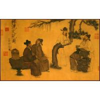 Quality China famouse aphorism painting art painting for sale