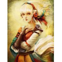 Quality wall clock girl picture home decor wall decor for sale