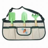 Quality Garden Tool Set with 600D Polyester Handbag for sale