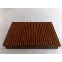 Carbonized Strand Woven Bamboo Decking, outdoor bamboo decking