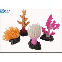Buy Custom Coral Aquarium Fish Tank Decorations / Aquarium Ornaments Colorful and Eco-friendly at wholesale prices