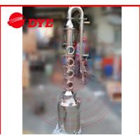 Quality 50L / 100L Mini Steam Home Distillation Equipment Semi-Automatic CE for sale