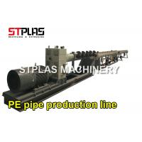 China PPR PP HDPE PE Plastic Pipe Extrusion Machine For 100-250mm Water Supply Drain Pipes on sale