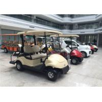 Quality Club Car 4 Seater Golf Carts Dongfeng , Street Legal Electric Cars 3KW Motor for sale