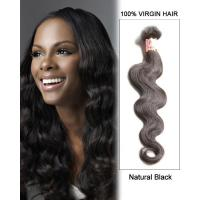 Quality Thick Virgin Brazilian Hair Extensions Double Drawn Brazilian Human for sale
