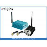 Quality 12 Channel 2.4GHz Video Transmitter And Receiver With 4000m Distance for sale