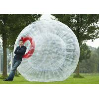 China Inflatable Zorb Ball 2.5m Diameter Blow Up Pool Floats , Large Inflatable Water Toys on sale