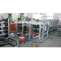 Quality Full Automatic Box Wrapping Machines with Automatic Box feeding , open and glue for sale
