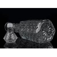 Buy 1016ml Small Empty Glass Wine Bottles Pineapple Shape Personalized  at wholesale prices