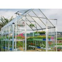 Quality White Clear One Stop Gardens Greenhouse , 10mm Polycarbonate Sheet Greenhouse for sale