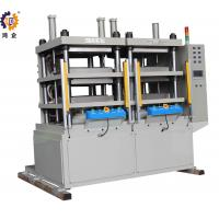 Quality 2000kg Servo  Control Hydraulic Press Machine For FPC Laminating With Two Work Stations for sale