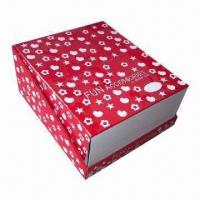Quality Romantic Design Bakery Cardboard Gift Packaging Box, Moving with Strong Bearing for sale