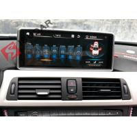Quality Mirrorlink Android 4.4 Car Dvd Player , BMW 1 Series Sat Nav System Support IDrive for sale