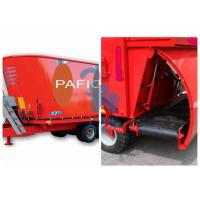 Quality Loading Scoop Type Vertical Feed Mixer Machine With Hauling - Off Unit for sale
