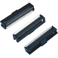 Black Female Pin Headers  Double Low 60 Pins SMT With Cap  LCP Plastic