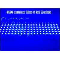 Quality SMD5050 pixel modules 6 LEDs waterproof IP67 12V led light for  Christmas Advertising for sale