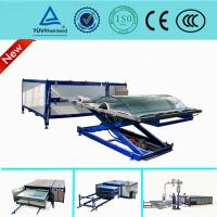 Quality Two Layer eva glass laminating machine For Architecture / Bending Laminated Glass for sale
