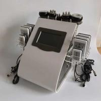 "Quality 8.4"" LCD Touch Screen Laser Lipo Cavitation Machine Frequency 5MHz 100KPA Pressure for sale"