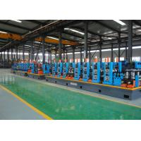 Quality Galvanized Erw Pipe Mill And Tube Making Machine With High - Precision for sale