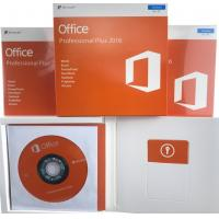 Buy cheap English Language Microsoft Office 2016 Professional Plus Retail Box PKC FPP from wholesalers