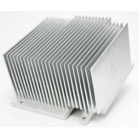 Quality 6063 6061 6005 Aluminum Heatsink Extrusion Profiles For Milling Drilling Bending Process for sale