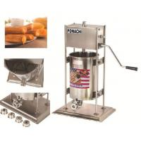 Quality Churros Machine Manual Type All Stainless Steel Body Churros Making Machine FMX-CM105 for sale