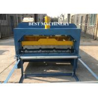 Quality Steel Roofing Sheet Roll Forming Machine With Cnc Hydraulic Press , Roofing Roll Formers for sale