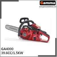 Buy cheap chainsaw 4000, gasonline chain saw, Oregan guide bar, 39.6cc displacement from wholesalers