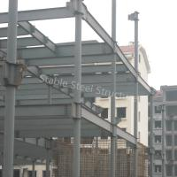 Quality Factory Manufacturer Steel Structure Workshop with Corrugated Roofing Sheets for sale