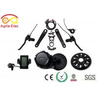 Modern Bafang Mid Drive Kit / Mid Drive Electric Bicycle Kit With Integrated 30a Controller