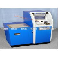 Quality Anti Rain Stainless ATM Machine Kiosk Fashion Style For Insurance Company for sale