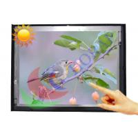 China 12.1 Inch Sunlight Readable Lcd Monitor , Metal Frame  High Brightness Display on sale