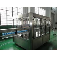 Quality Stable Mineral Drinking Water Production Line Automatic 3000 - 28000 BPH High Capacity for sale