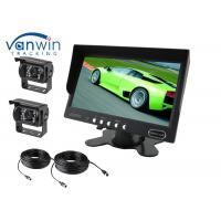 Quality Quad 7inch Rack Mount LCD Monitor, Car Video Monitors for Rear View Monitoring for sale