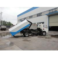 Quality Factory sale best price CLW brand 4cbm hydraulic lifting mini garbage truck, high quality and best price garbage truck for sale